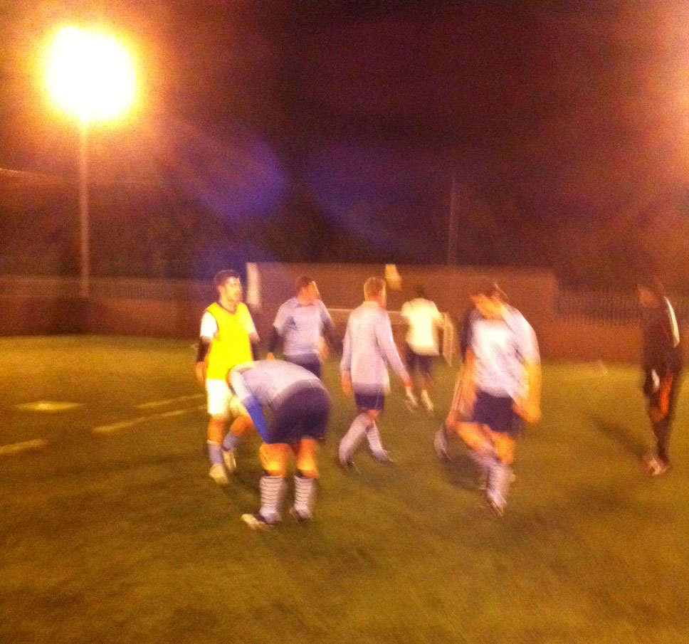 Match Report - MyFace v FC Unknown, 17/05/2012 Goals Soccer Centre, Wimbledon