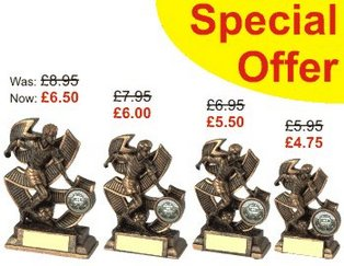 Final Football Trophy Offer - Discounted Football Trophies