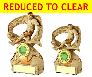 Football Trophies Reduced to Clear