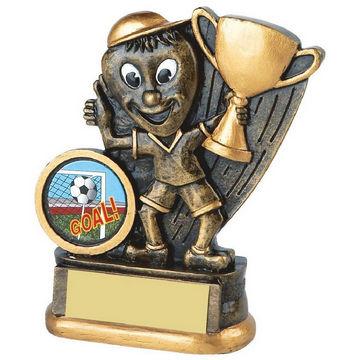Antique Gold Resin Cup Winner Trophy