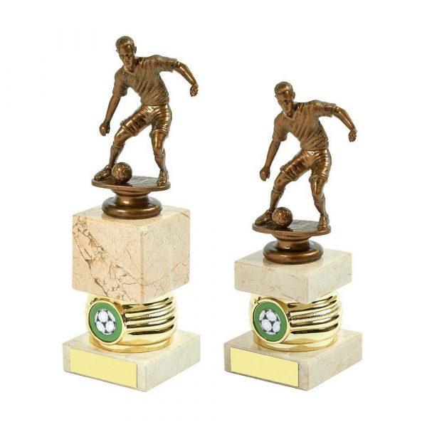 Gold Men's Football Column Trophy