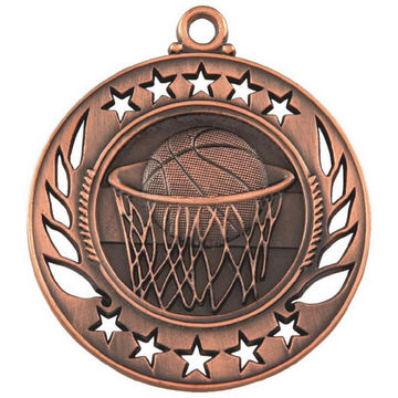 60mm Basketball Medal