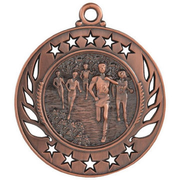 60mm Distance Running Medal