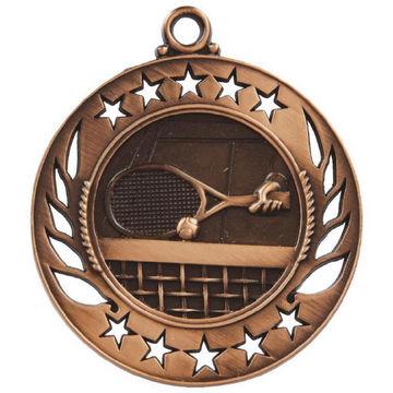 60mm Tennis Medal