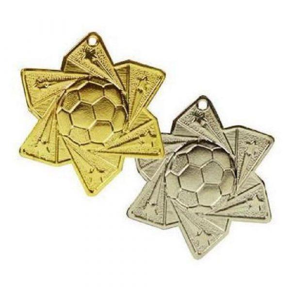 Football Star Medal (60mm)