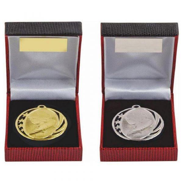 Football Medal in Presentation Case
