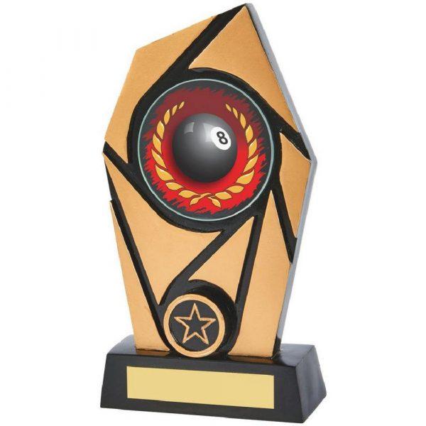 Gold & Black Resin Pool Award