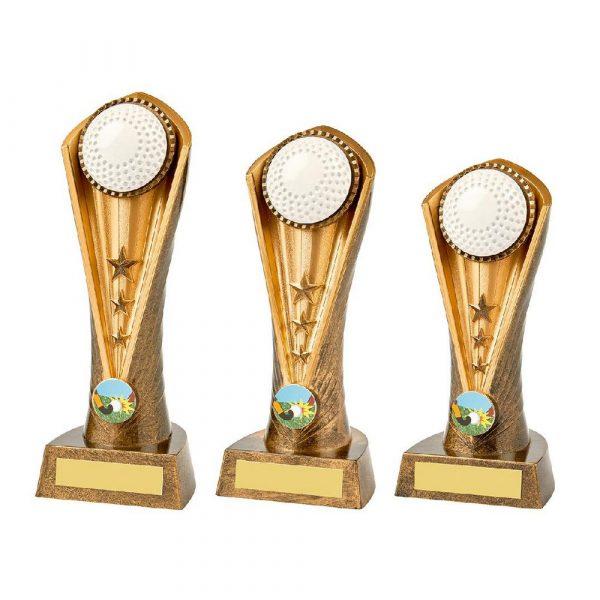 Antique Gold Hockey Cobra Trophy
