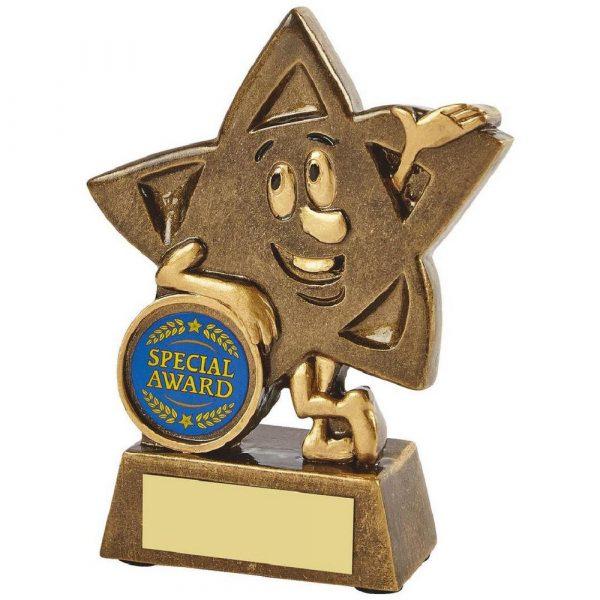 Gold Resin Star Character Award