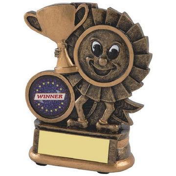 Gold Cup Winner Award - Rosette