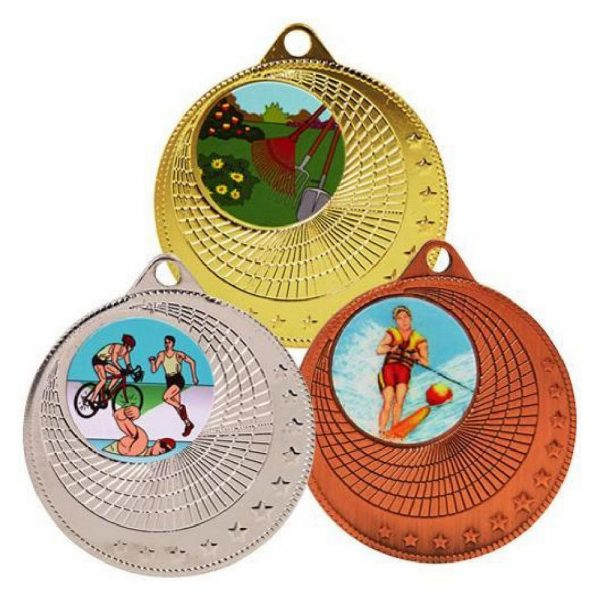 50mm Circles Sports Medal