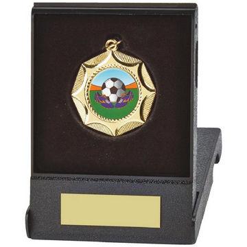 45mm Medal in Black Case