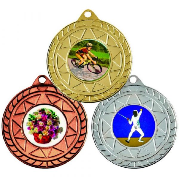 "50mm ""Star"" Sports Medals"