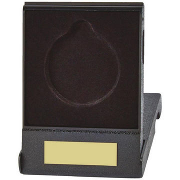 Economy Black Medal Box for 50mm Medals