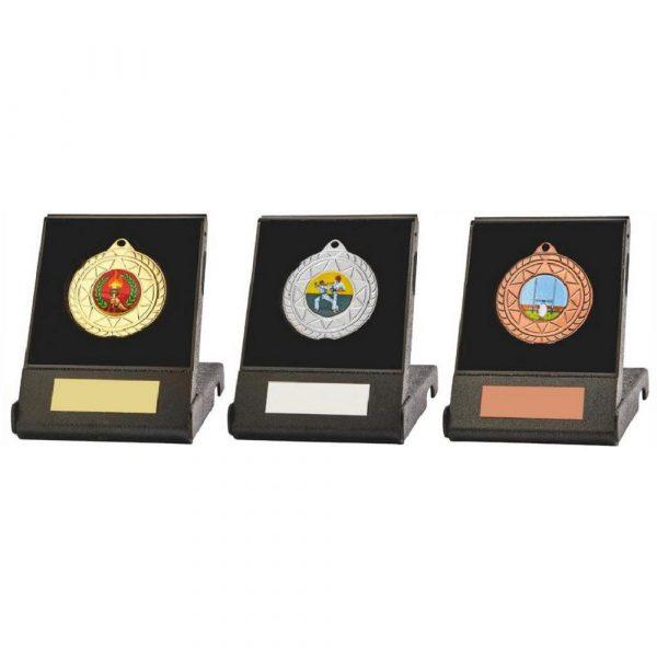 50mm Star Medal in Case