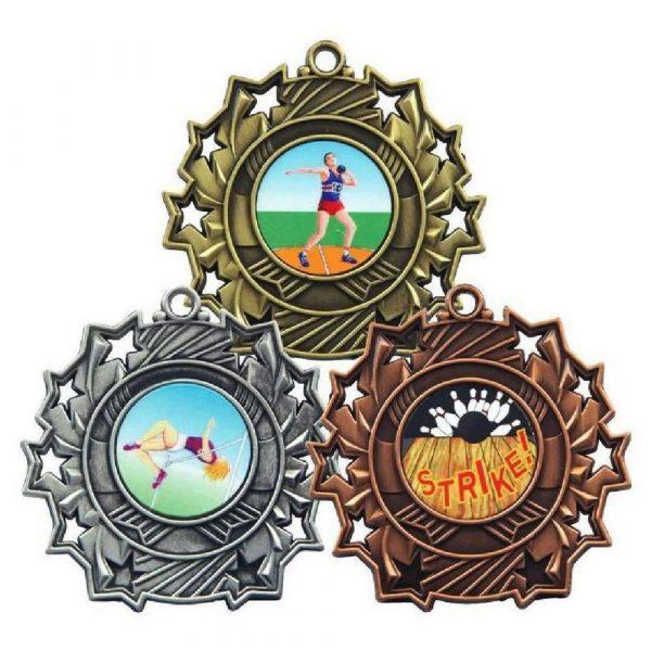 60mm Medal Multi Sport