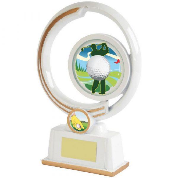 White Resin Men's Golf Award