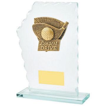 Jade Glass Longest Drive Resin Trim Award