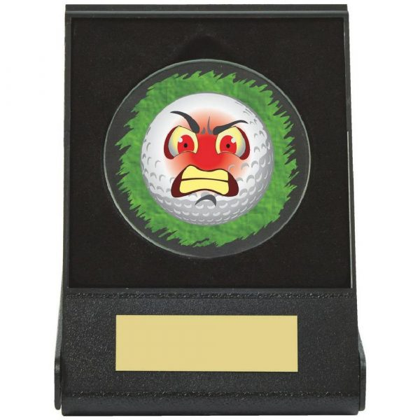 Black Case Golf Collectable - Angry
