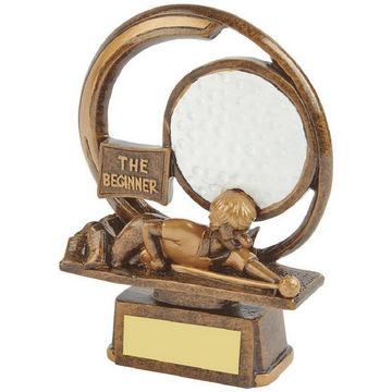 The Beginner - Novelty Golf Trophy