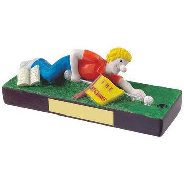 The Beginner Novelty Golf Trophy