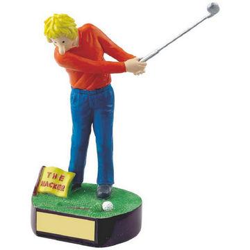 Hacker Novelty Golf Trophy