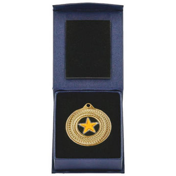 50mm Gold Medal in Case