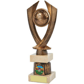 Antique Gold Football Trophy