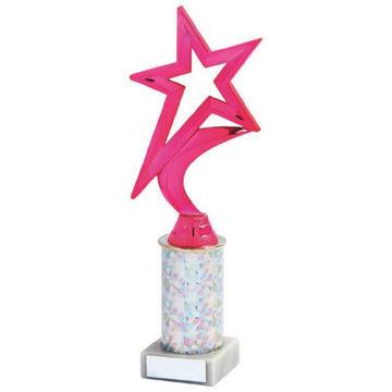 Pink Rising Star Trophy