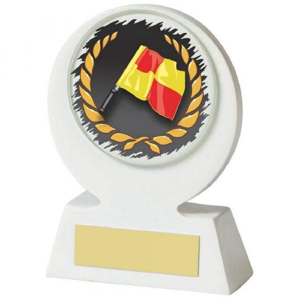 White Resin Linesman Award