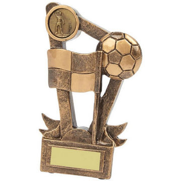 Gold Resin Football Assistant Referee Award