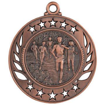 60mm Distance Running Medal