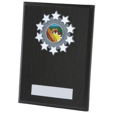 Black Wood Plaque Award