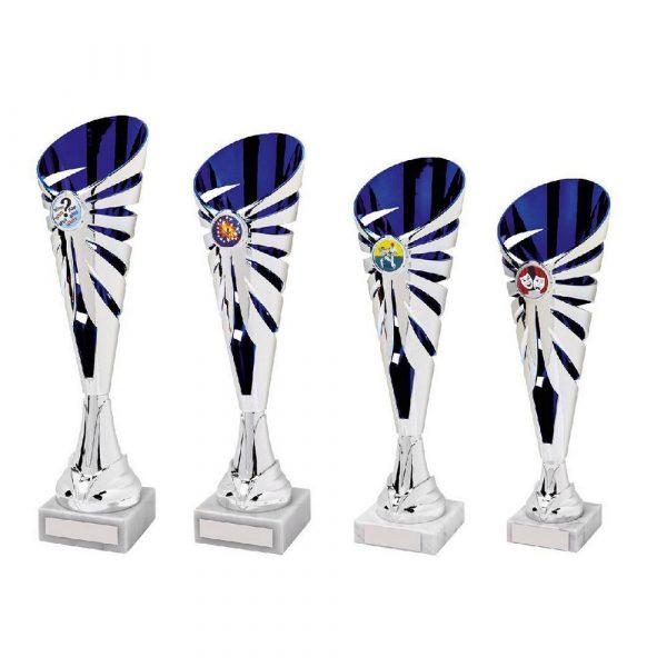 Silver/Blue Sculpture Award