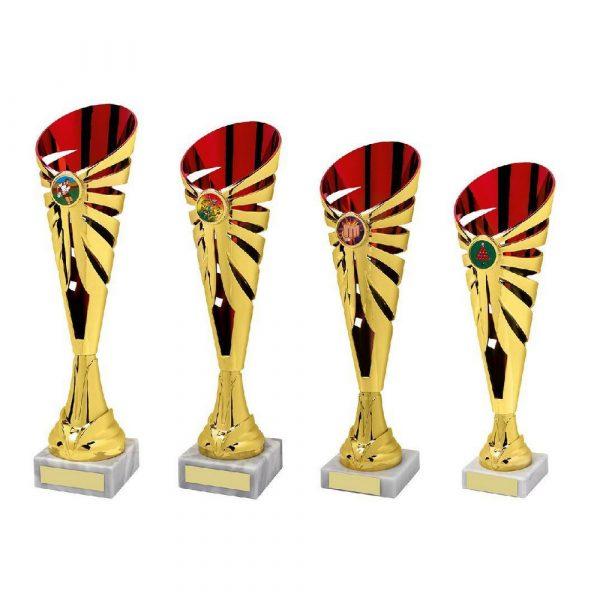 Gold/Red Sculpture Award