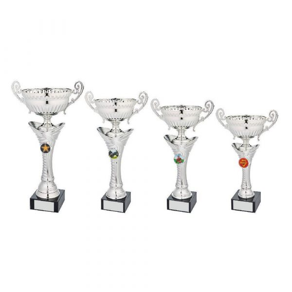 Silver Bowl Award with Handles