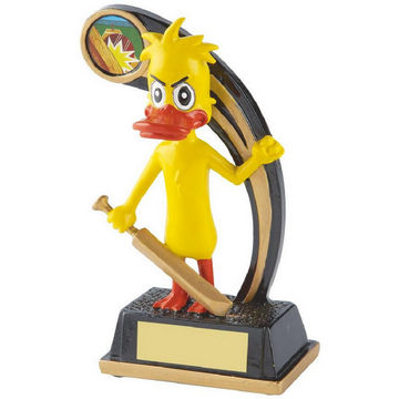 Novelty Cricket Trophy - The Duck