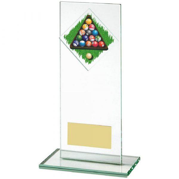 Jade Glass Upright Award for Pool