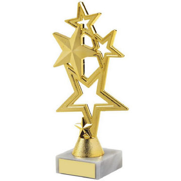 Gold Stars Achievement Trophy