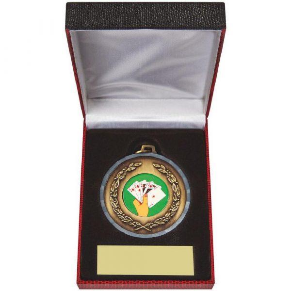 50mm Medal in Case
