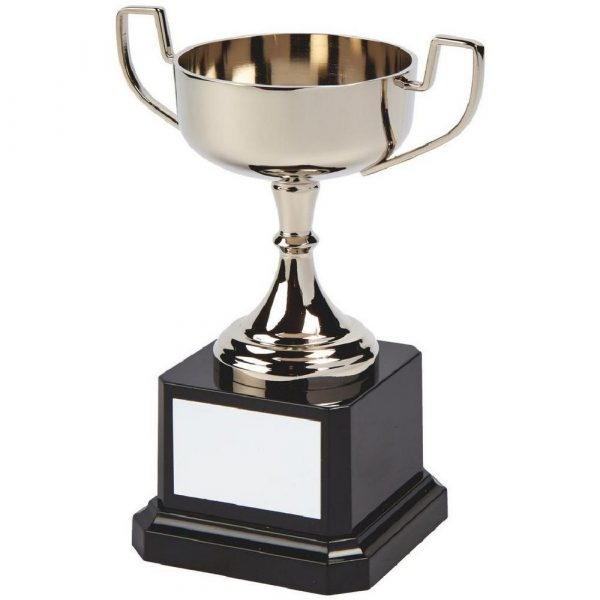 Nickel Plated Trophy Cup