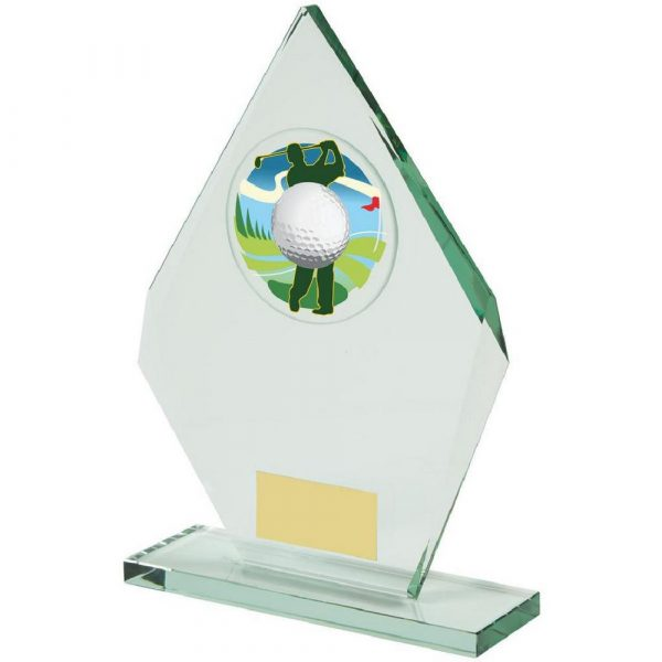 Jade Glass Diamond Golf Award
