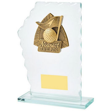 Jade Glass Nearest the Pin Resin Trim Award