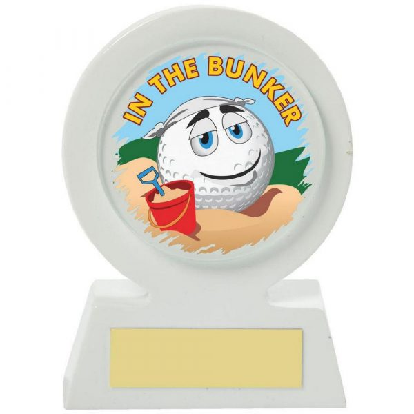 White Resin Golf Collectable - Bunker