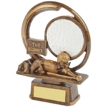 The Beginner - Novelty Golf Trophy