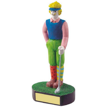 Male Golfer Novelty Golf Trophy