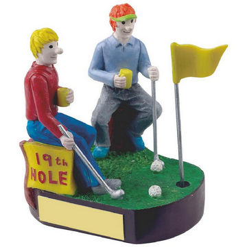 19th Hole Novelty Golf Trophy