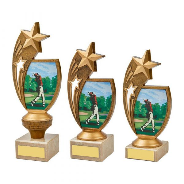 Colour Male Golf Star Holder Award