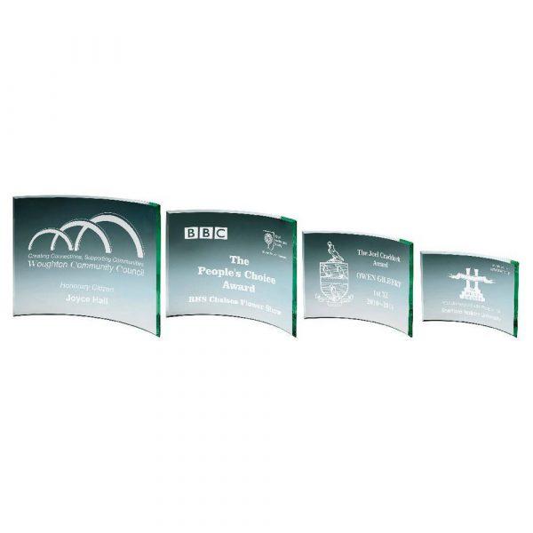 Jade Curve Glass Award