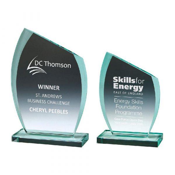 Jade Glass 'Slice' Award